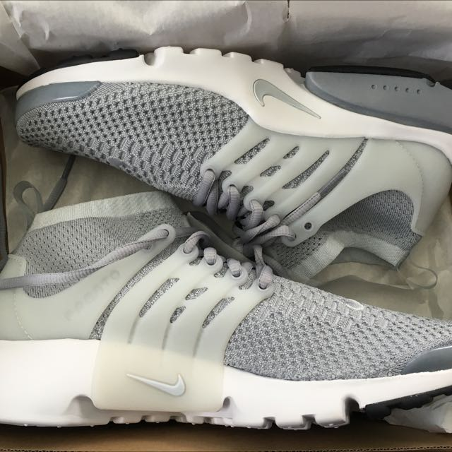 "Brand New Nike Air Presto Ultra Flyknit  ""grey"""