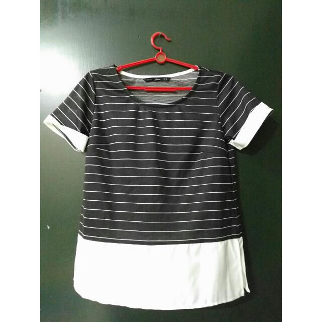 For Me Striped Shortsleeve