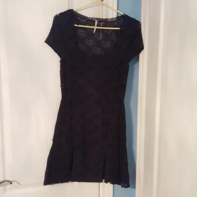 Free People Little Black Dress