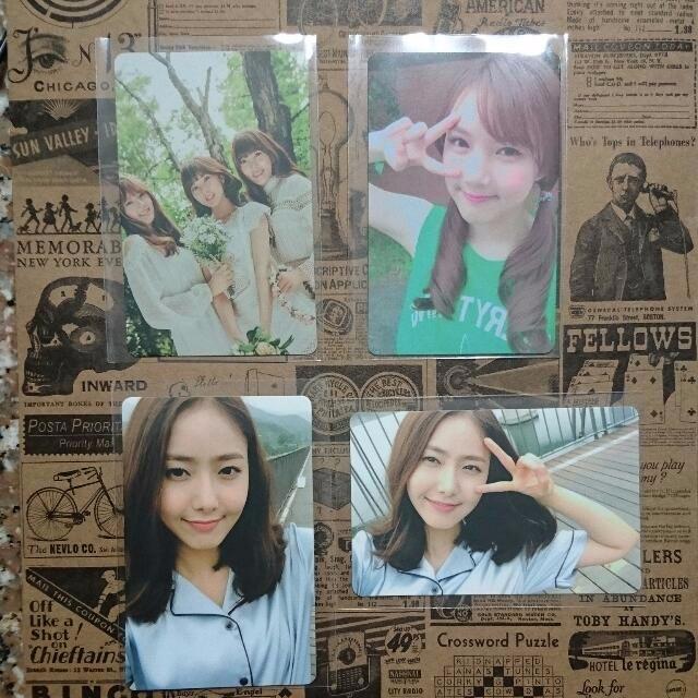 gfriend lol photocards yerin yuju eunha unit sinb  yerin 1469944711 733a3b41