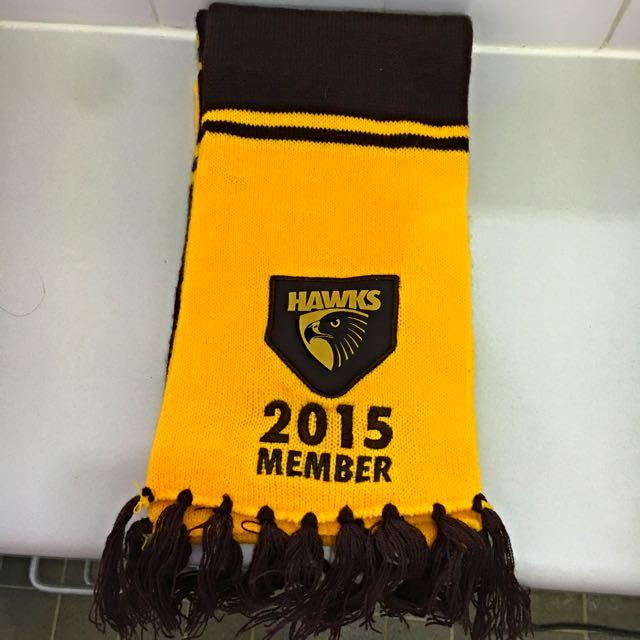 Hawthorn Football Club 2015 Member Scarf