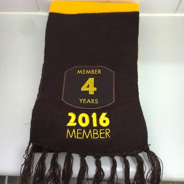Hawthorn Football Club 2016 Member Scarf