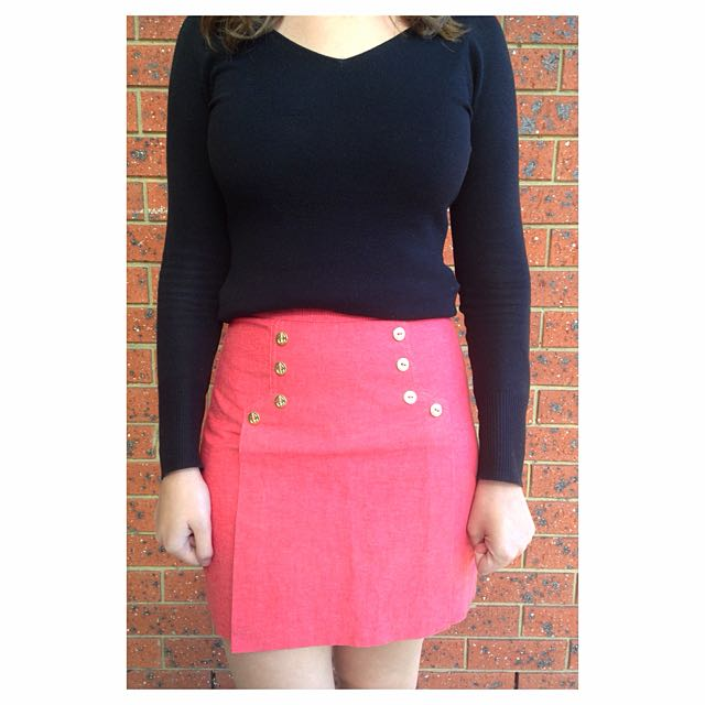 High Waisted Sportsgirl Skirt