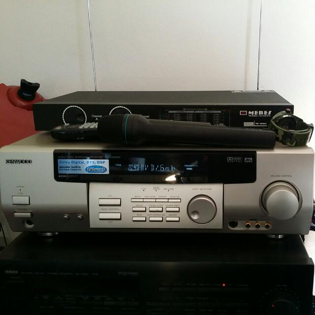 KENWOOD 6 ch Audio-Video Receiver