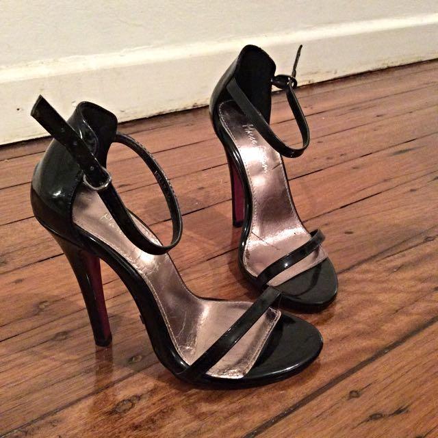 Marco Gianni black stilettos