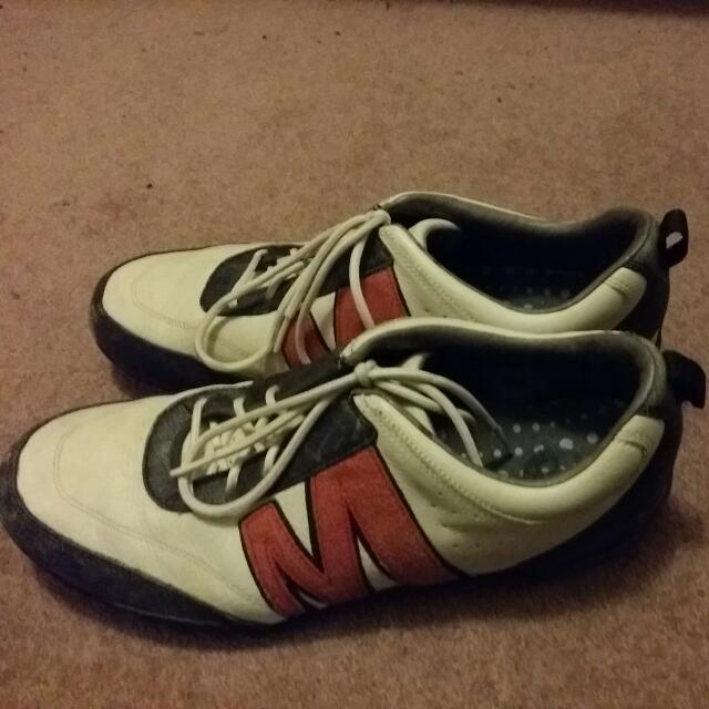 Merrell Moto Performance Footwear White/Black/Red