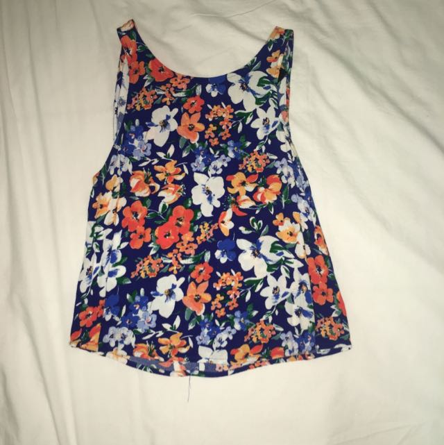 Mink Pink Floral Top Size XS