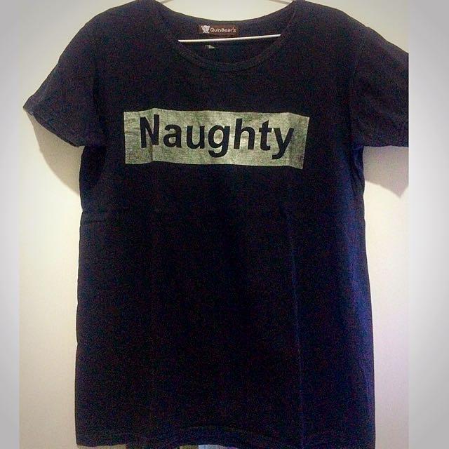 Naughty Tshirt