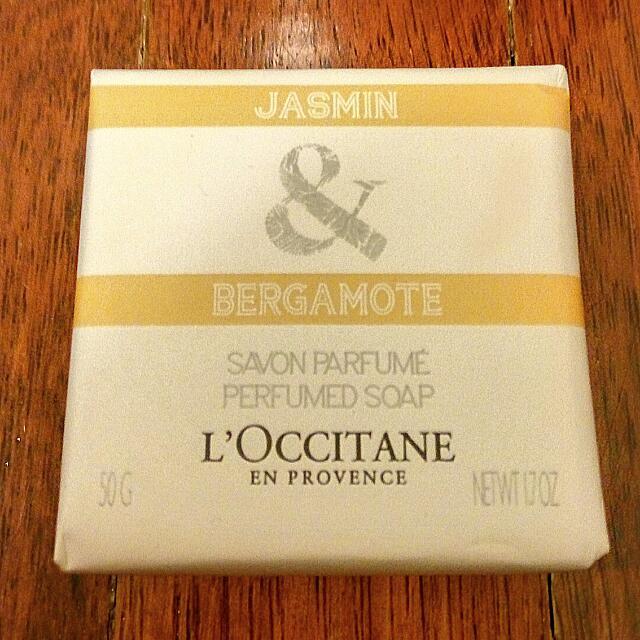 ⭐NEW⭐L'OCCITANE Jasmine & Bergamot Luxury Bar Soap