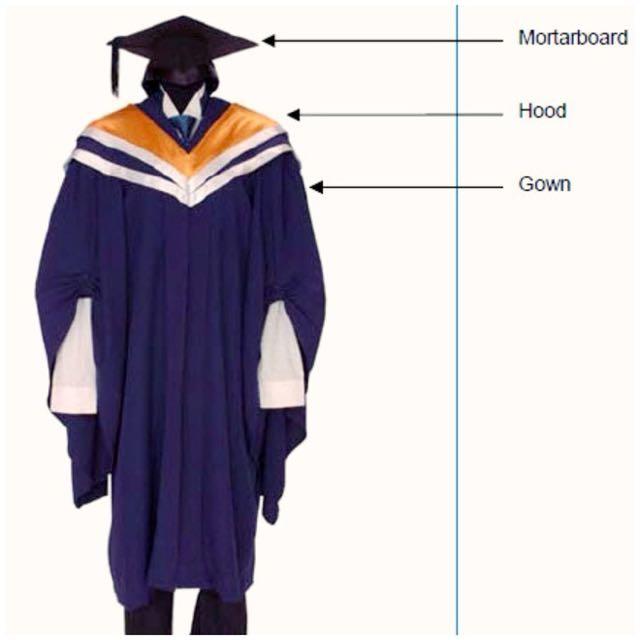 NTU Graduation Robe & Mortar Board (For Rent), Everything Else on ...