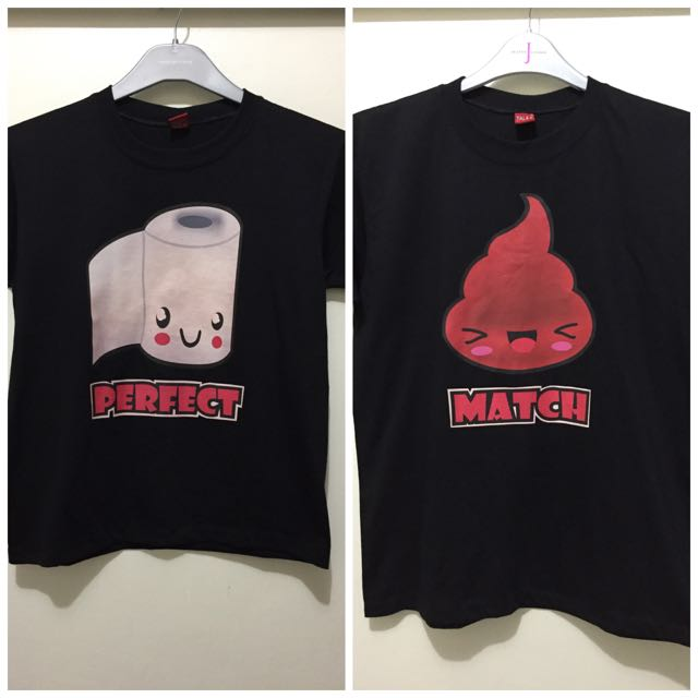 """Perfect Match"" Couple Shirts"