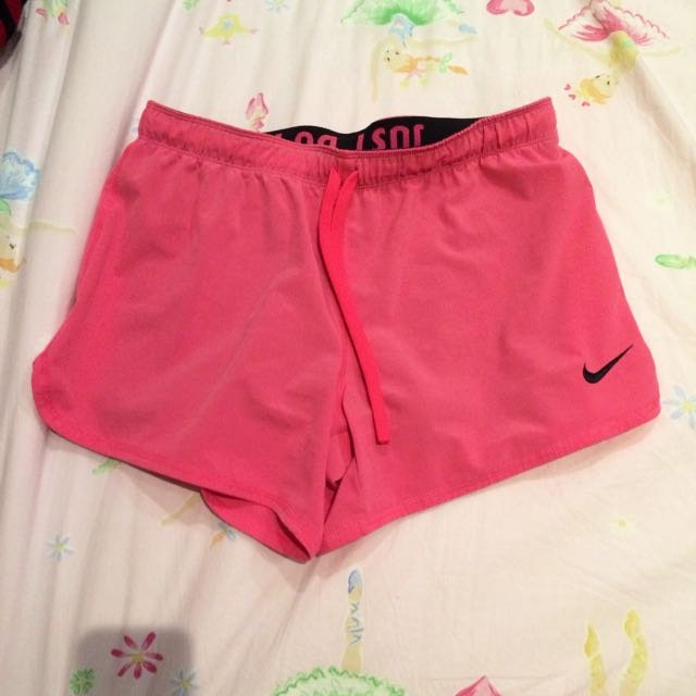 Pink Nike Sports Shorts