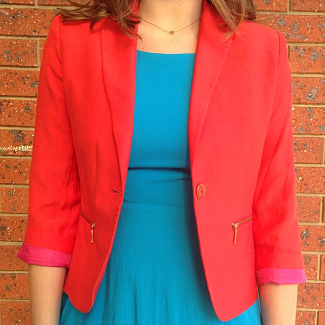 Portmans Orange/pink Blazer