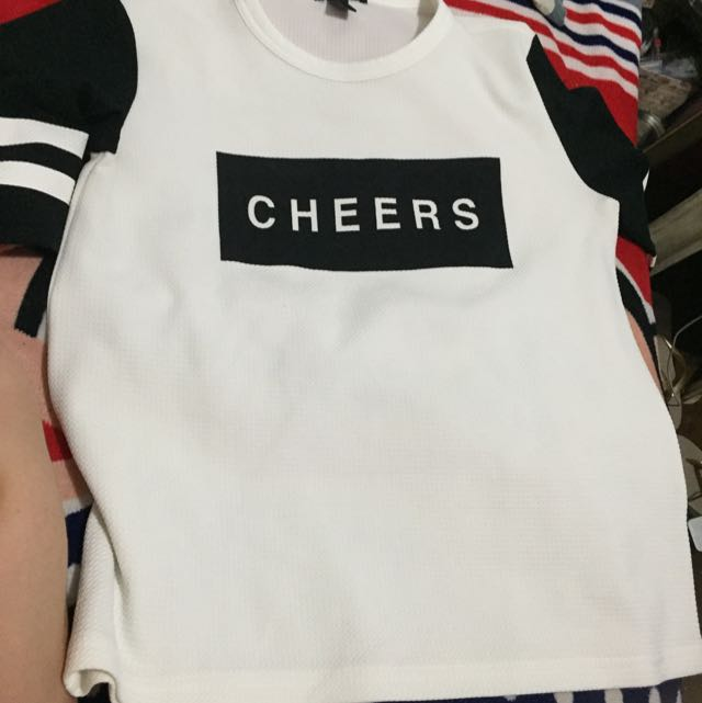 """Forever 21 """"Cheers"""" Shirt"""