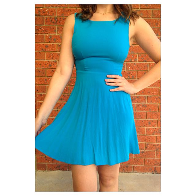 Sportsgirl Bright Blue Dress