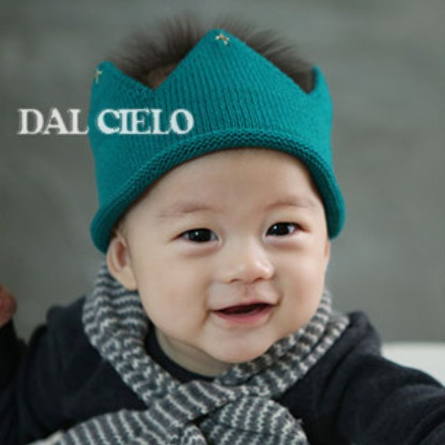 a64cc525770 ✓️STOCK - KOREAN CROWN KNITTED BABY BOY GIRL BEANIE HAT NEWBORN PHOTOSHOOT  HAIR ACCESSORIES (5 colours)