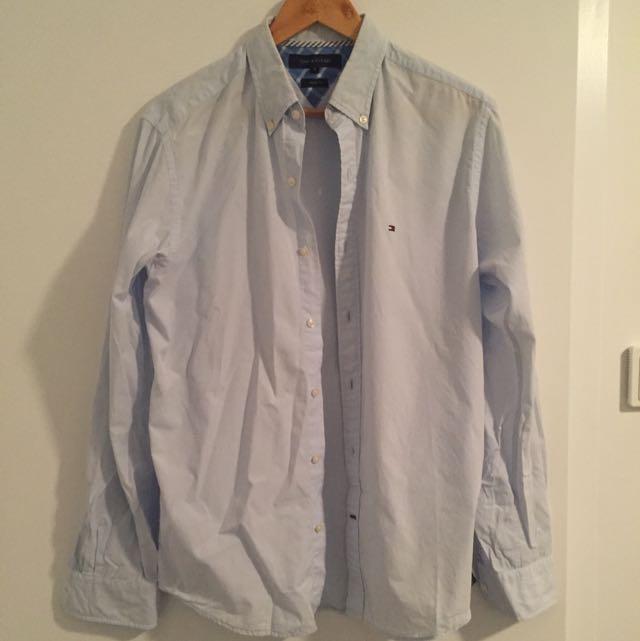 Tommy Hilfiger Shirt (light Blue)