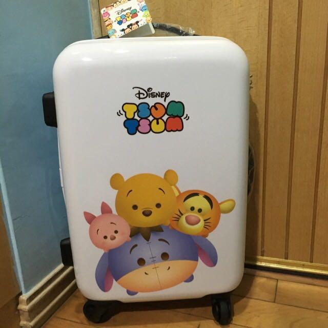 (保留)正品迪士尼tsum tsum行李箱