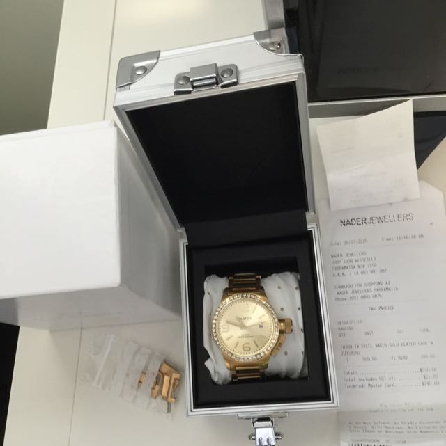 TW Steel Watch gold Plated (wore It Twice) Good As New