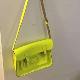 Cambridge Satchel-neon/Fluor Style