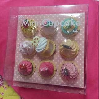 Mini Cupcake Lip Balm