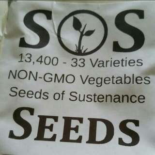Seeds Of Survival From USA BN