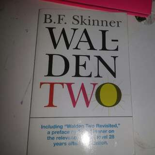 Walden Two B.F Skinner