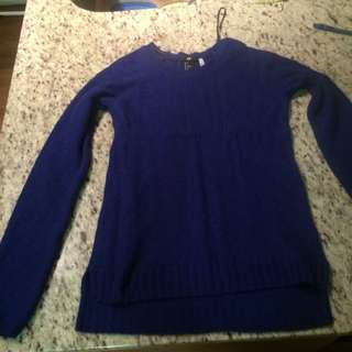 H&M Royal Blue Sweater Small