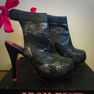 Iron Fist Necromance Booties