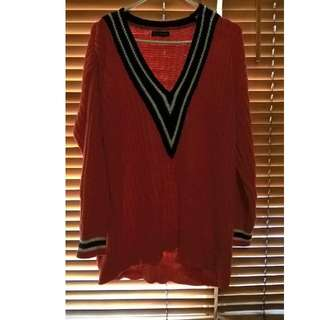 willy smith knitted sweater
