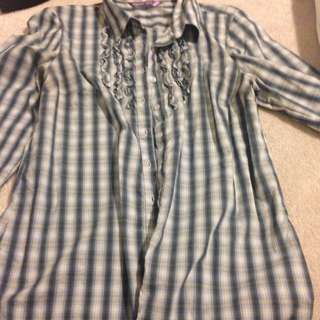 Smart Set Dress Shirt Size Small Fits Like Medium