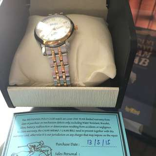 Polo Authentic Watch