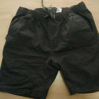 Men Dark Grey Shorts New! Size Small