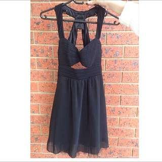 Dotti Black Cutout Dress