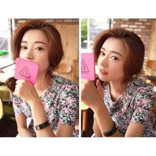 🚚 韓國 3CE化妝鏡 3CONCEPT EYES 手柄化妝鏡手拿鏡