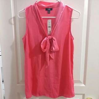 NWT Jacob Sleeveless Blouse