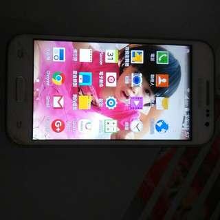 Samsung G360g智慧手機 螢幕下方有裂不影響觸控 可當備用機 蓄電正常 手機正常 換599張未兌獎發票