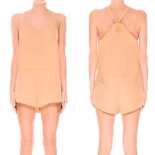 The Fifth Lost Soul Playsuit in Apricot