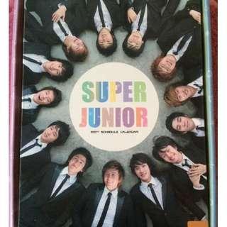 Super Junior 2007 Schedule Calender