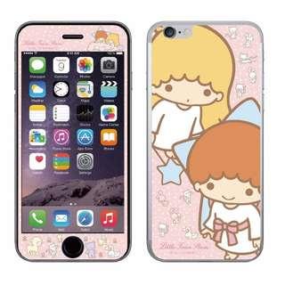 日本限定SANRIO 三麗鷗KIKILALA雙子星美樂蒂KITTY史努比iPhone6,iPhone6s雙面螢幕玻璃鋼化膜玻璃貼