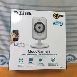 D-Link Wireless cloud camera DCS-942L