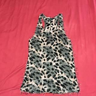 TOPSHOP Leopard Dress