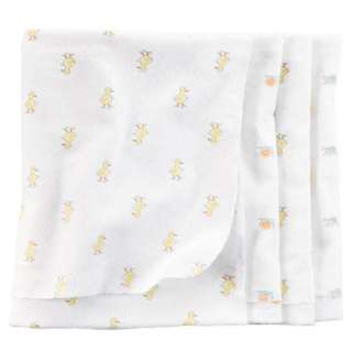 [Newborn Essentials] Brand New Carter's 4 pack Receiving Blanket