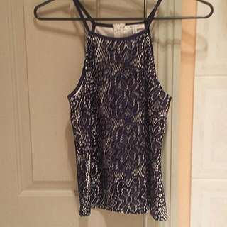 PRICE DROP! Valley Girl Singlet Size Small