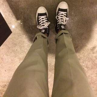 Dickies 813 直板長褲 硬挺 厚版 卡其褲