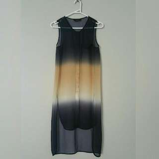 Decjuba Tie Dye Long Blouse