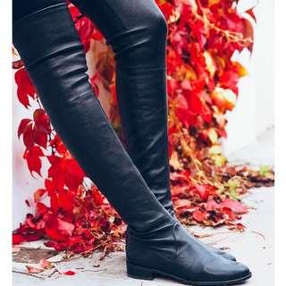 Stuart Weitman - Lowland In leather