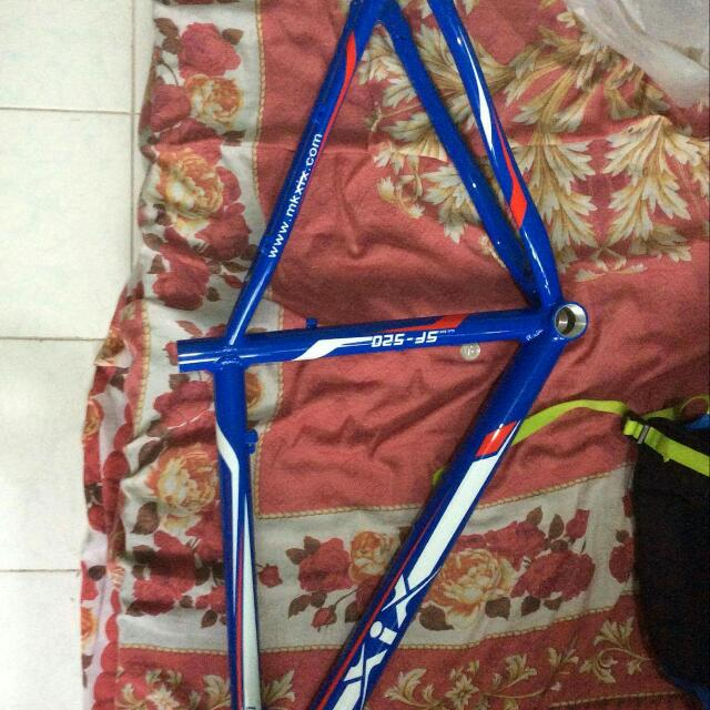 "17"" bike frame Alloy Steel"