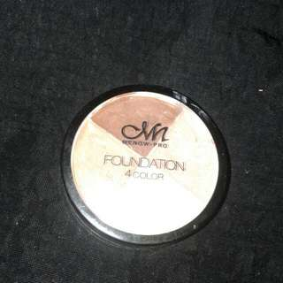 Menow Foundation 4 colour