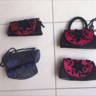 Hand Beaded Fashion Purses And Bags